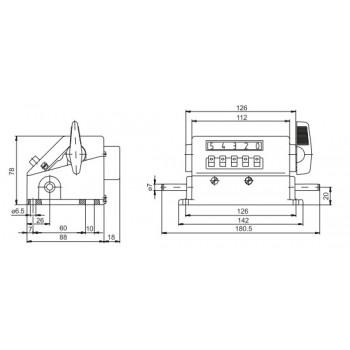 Meterteller ME230