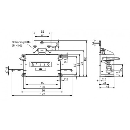 Rotatieteller U410
