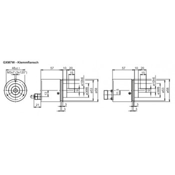 GXM7W RS485 Absoluut multiturn