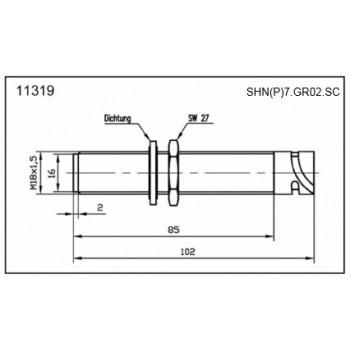SHP/N7 - M18 Messing