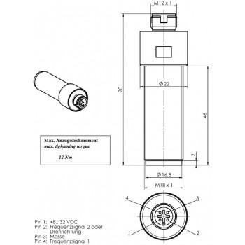 SDN0/1 SDP0/1 - M18