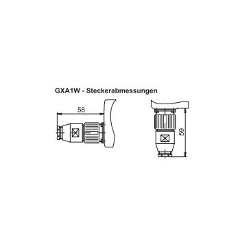 GXA1W Absoluut singleturn parallel