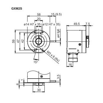 GXM2S Absoluut multiturn