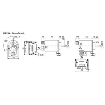 GXN1W Absoluut multiturn parallel