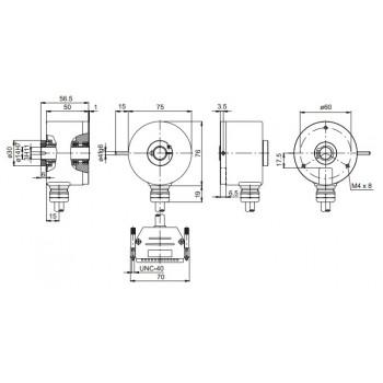 GXP1H Absoluut multiturn parallel