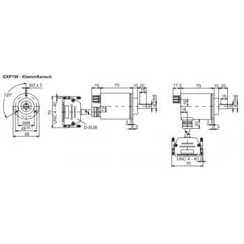 GXP1W Absoluut multiturn parallel