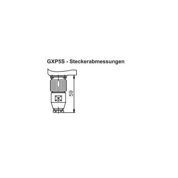 Absoluut multiturn GXP5S CANopen