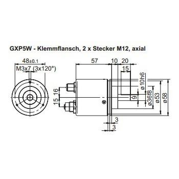 GXP5W Absoluut multiturn CANopen